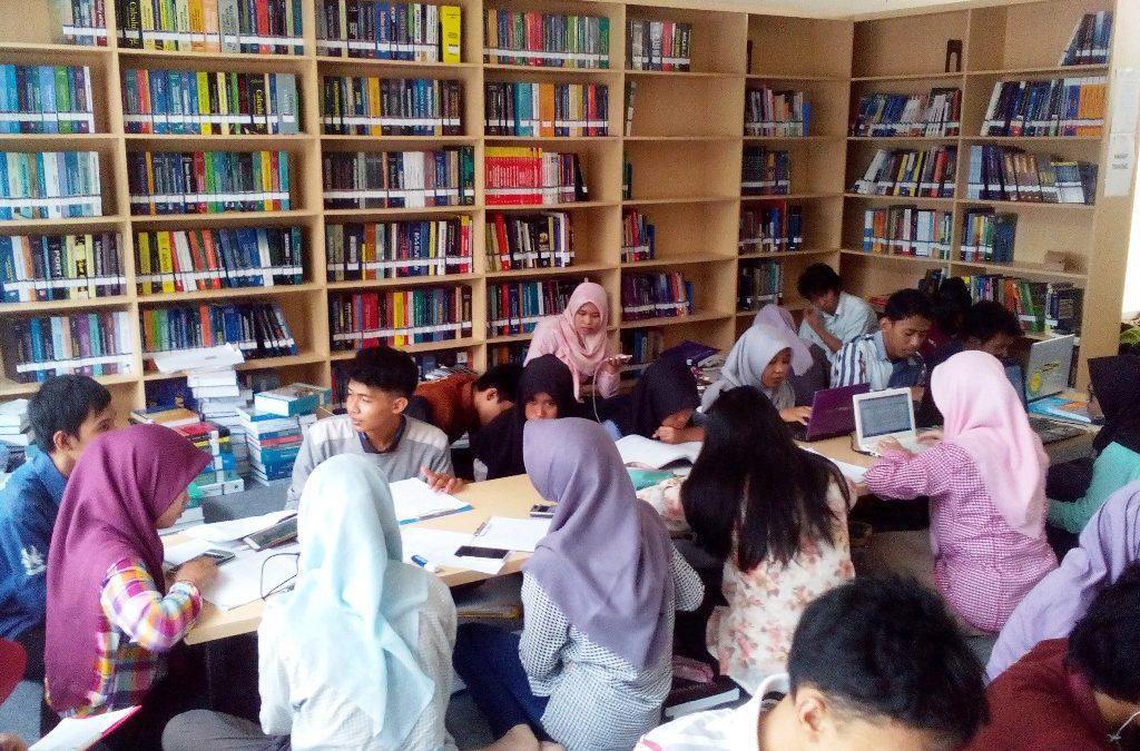 Sambut Hardiknas, Perpustakaan Kampus ITK Berbenah