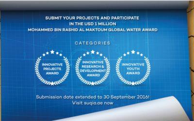 The Mohammed bin Rashid Al Maktoum Global Water Award