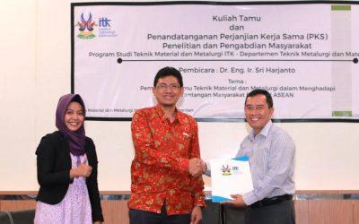 ITK dan Universitas Indonesia Jalin Kerjasama di Bidang Teknik Material dan Metalurgi