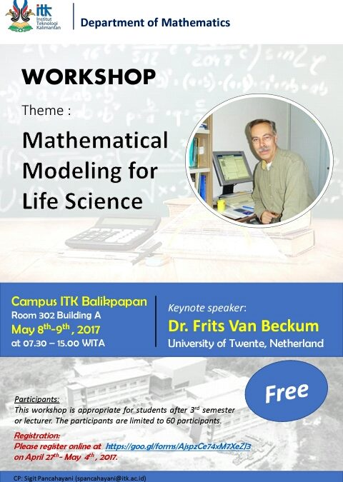 Workshop: Mathematical Modelling for Life Science