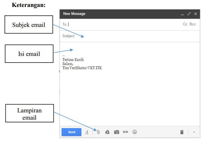 Keterangan Email