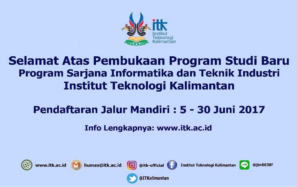 Pembukaan Program Studi Informatika dan Teknik Industri
