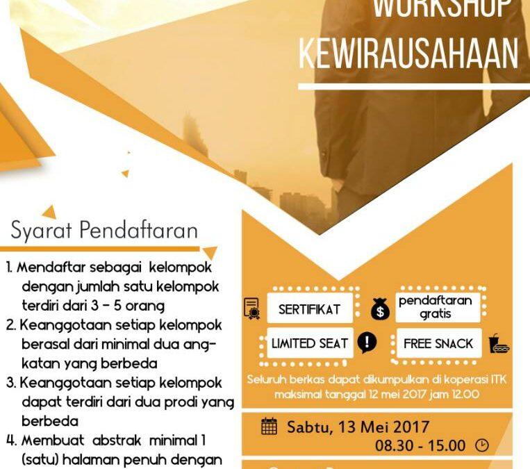 Workshop Kewirausahaan
