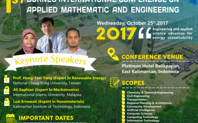 CALL FOR Paper: Borneo International Conference on Applied Mathematics and Engineering (BICAME)