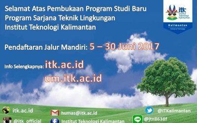Pembukaan Program Studi Teknik Lingkungan