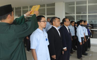 Pelantikan Pejabat Baru Institut Teknologi Kalimantan