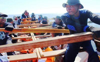 Mendayung Sampai Kejuaraan Maritim Nasional