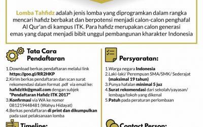 Lomba Tahfidz se-Kalimantan Timur