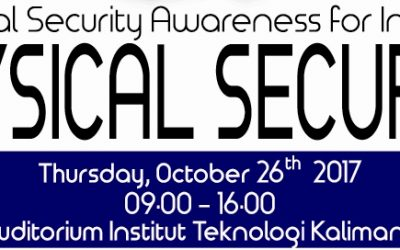"""Chemical Security Awareness for Indonesia : Physical Security"""