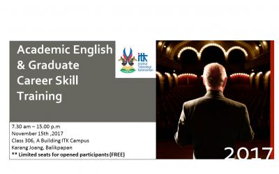 Academic English & Graduate Career Skill Training 2017