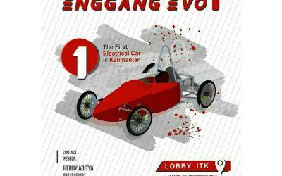 """Undangan Peluncuran Mobil Listrik """"Enggang Evo 1"""" ITK"""