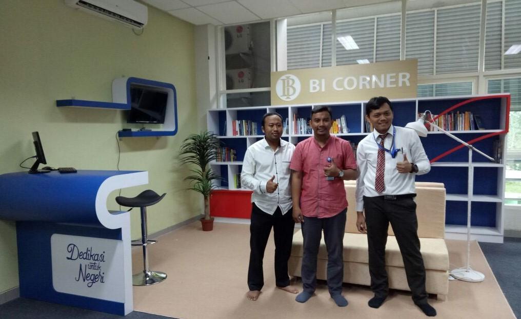 Bank Indonesia Resmikan Pendirian Perpustakaan Pojok ITK