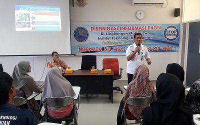 BNN Kampanye Anti Narkoba Kepada Civitas Akademika ITK