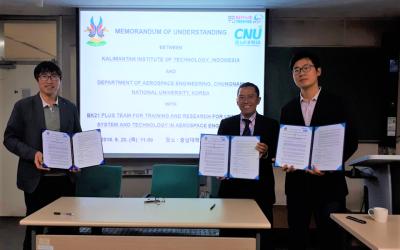 ITK Jalin Kerja Sama dengan Perguruan Tinggi dan Lembaga Riset Korea