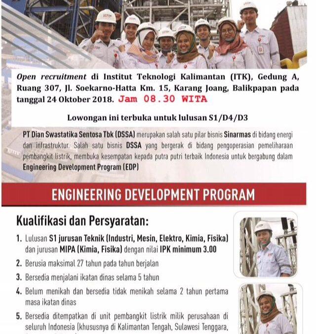 Open Recruitment PT SKS Listrik Kalimantan (Campus Hiring)