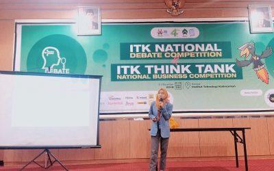 ITK Contest dan Think Tank, Ajak Generasi Muda Berpikir Kritis