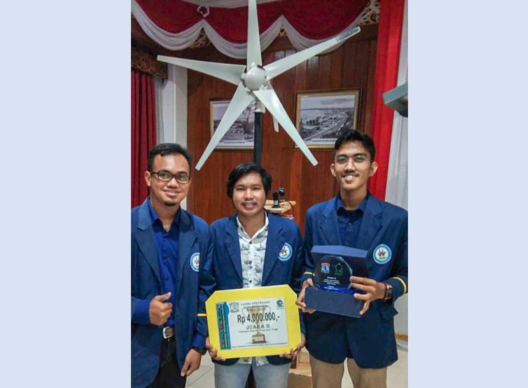 Mahasiswa ITK Juara Lomba Kreatifitas Teknologi dan Inovasi 2018