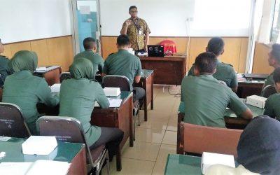 Pelatihan Keamanan Siber Bagi Personel TNI Kodam VI Mulawarman