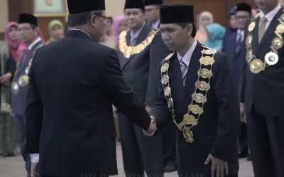 Menristekdikti Lantik Rektor Baru ITK Periode 2018 – 2022