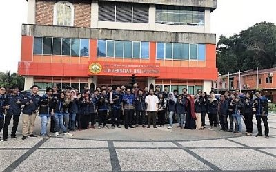 Pererat Silaturahmi, Civitas Akademika ITK Kunjungi Poltekba dan Uniba