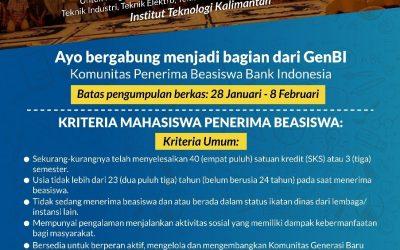 Tawaran Beasiswa Bank Indonesia Tahun 2019
