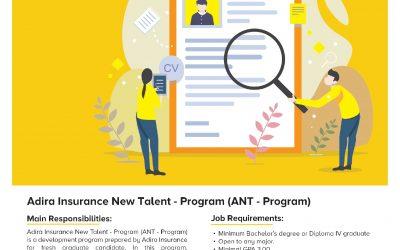 Info Loker: Adira Insurance New Talent Program