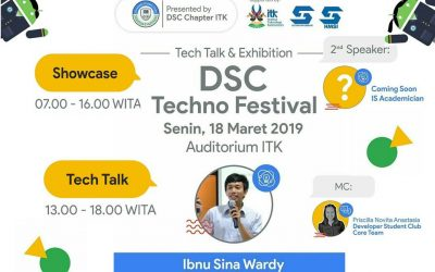 Developer Student Club ITK Techno Festival 2019