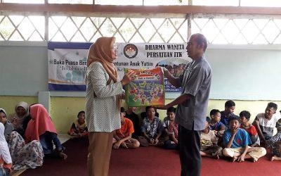 Ramadan Penuh Berkah, DWP ITK Berbagi Kebahagiaan ke Panti Asuhan Yaumiddin