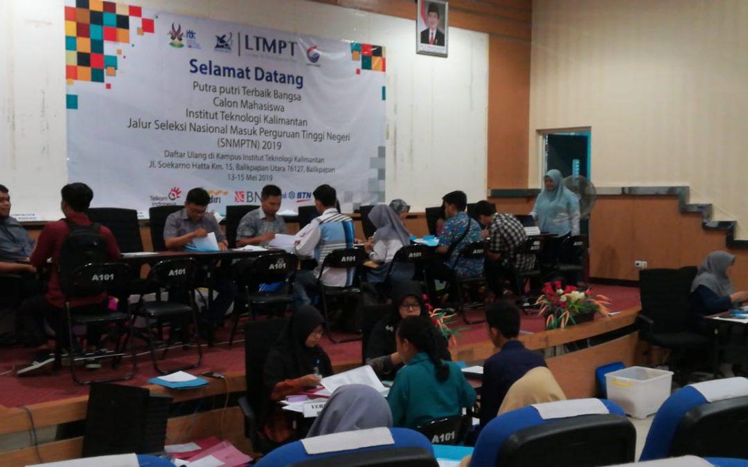 Pelaksanaan SNMPTN 2019 Berjalan Lancar, ITK Terima Camaba Dari Wilayah 3T