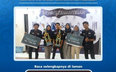 Mahasiswa ITK Berhasil Meraih Juara pada Lomba Desain Pelabuhan OCEANIA 2019