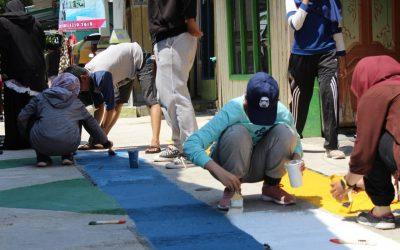 Pemberdayaan Masyarakat Kampung Warna-Warni Teluk 1000 Balikpapan