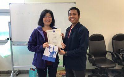 Bayaruddin., S.T.,M.T., M.Sc Dosen Teknik Sipil yang Menjadi Perwakilan ITK dalam Program Bridging di Taiwan