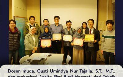 Dosen muda, Gusti Umindya Nur Tajalla, S.T., M.T., dan mahasiswi Ansita Fitri Budi Hartanti dari Teknik Material dan Metalurgi telah mengikuti serangkaian kegiatan Sakura Science Exchange Program (SSEP) pada tanggal 20-30 Januari 2020