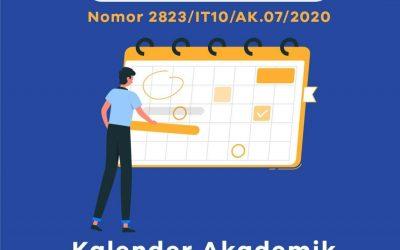 PERUBAHAN KALENDER AKADEMIK DAN KEMAHASISWAAN ITK TA 2020/2021