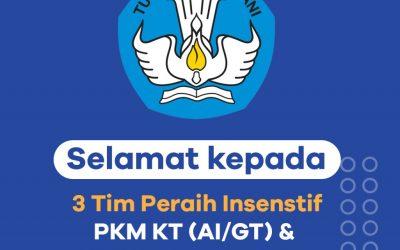 HEBAT! ITK RAIH PENINGKATAN JUMLAH PKM TERDANAI 2020 SEBESAR 71,4 %
