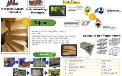 Pemanfaatan Limbah Serbuk Kayu Ulin dan Bambu untuk Pembuatan Papan Partikel