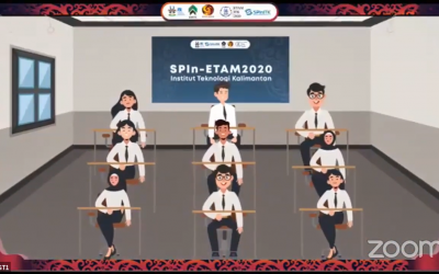 KESERUAN PEMBUKAAN SPIN ETAM ITK 2020 MEMBAHAS MERDEKA BELAJAR