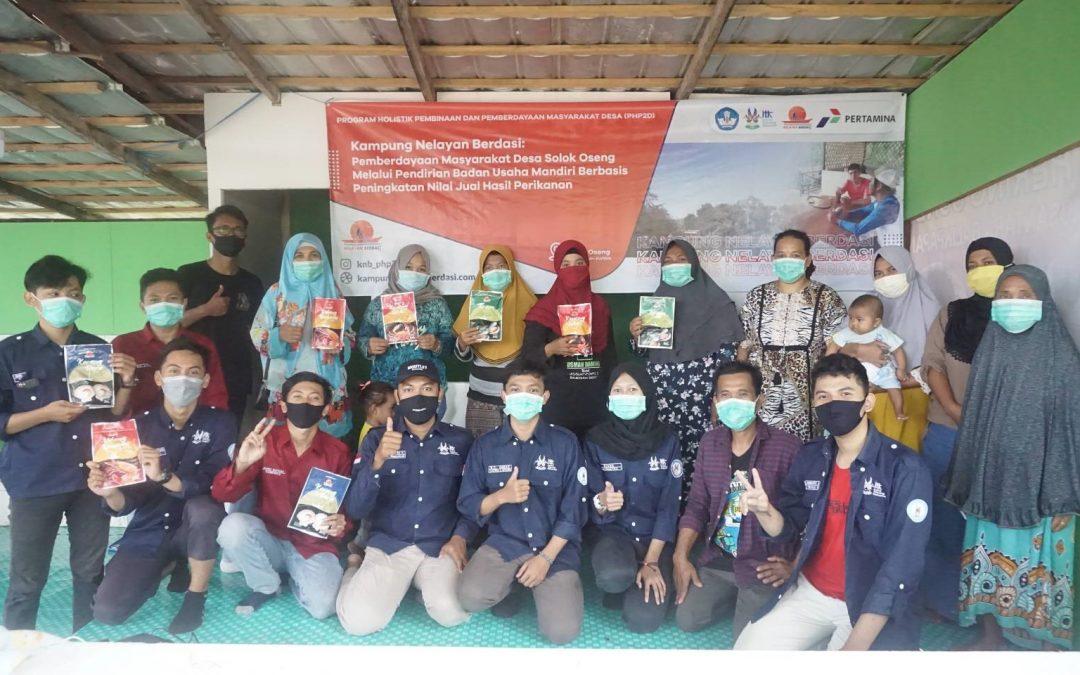 Mahasiswa/I Institut Teknologi Kalimantan Melakukan Pembinaan dan Pemberdayaan Desa Solok Oseng Balikpapan Melalui  Kampung Nelayan Berdasi