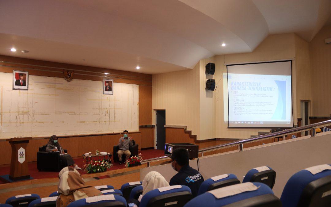 Pelatihan Jurnalistik ITK untuk Meningkatkatkan Kualitas Artikel dan Berita