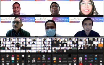 Ratusan Sivitas Akademika ITK Hadiri Webinar Industri Hulu Migas
