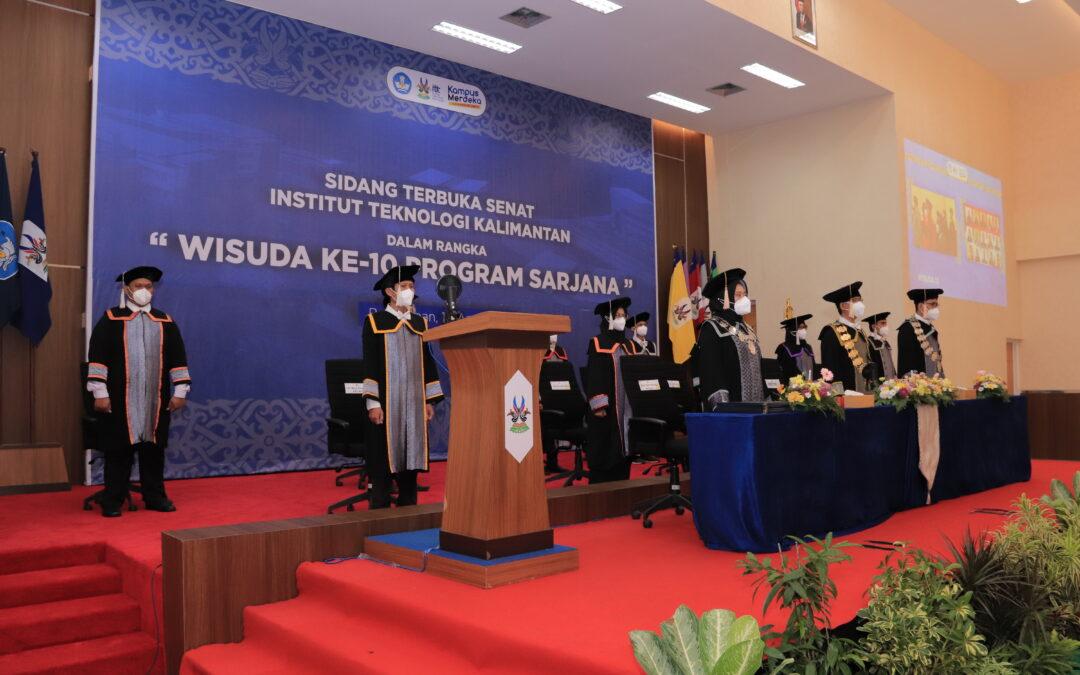 ITK Gelar Wisuda ke-10 Periode April 2021
